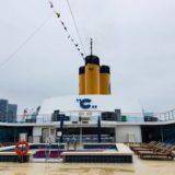 【2018コスタネオロマンチカ旅行記】13.いよいよ乗船!乗船初日のイベントとは