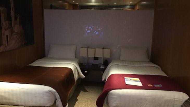 【2018コスタネオロマンチカ旅行記】21.一番安い部屋でも十分快適な設備!内側客室のご紹介
