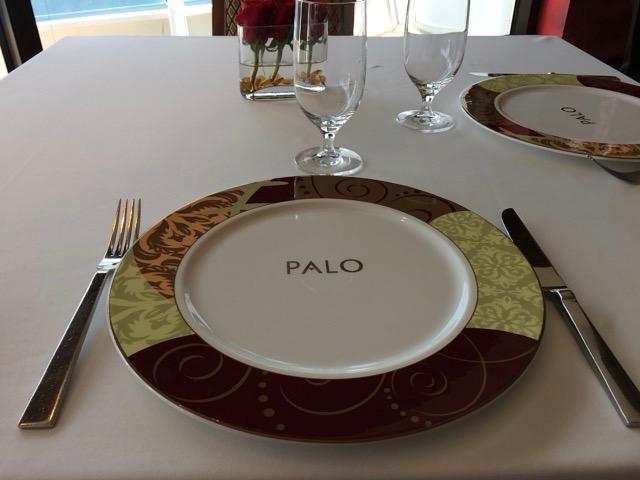 【WDW・DCL旅行記】10.ワンランク上の高級レストランPALOでの優雅な食事