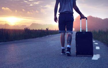 海外旅行にはサムソナイトの軽くて便利なスーツケース!
