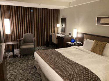 ホテルニューオータニのクオリティダブルルームを紹介
