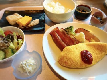 東京プリンスホテルの朝食